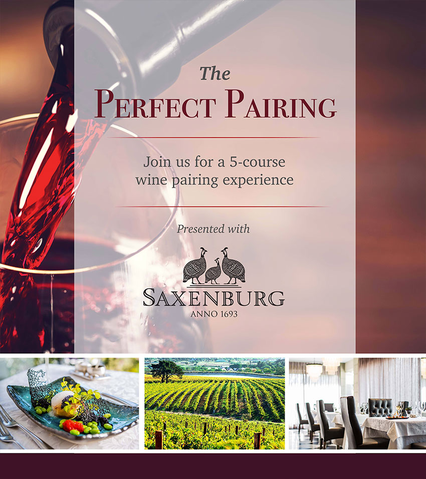 Wine Pairing at Fairlawn's Boutique Hotel & Spa